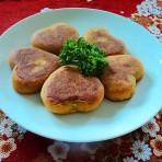 爱心南瓜饼的做法