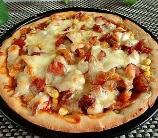 奥尔良鸡腿披萨