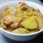 白菜粉皮炖鸡