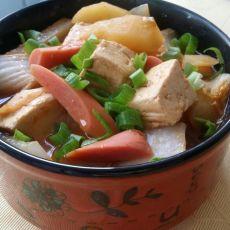 白菜土豆豆腐
