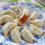 白菜鲜肉锅贴饺的做法