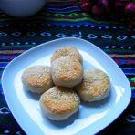 白菜虾皮煎饼