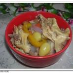 白果支竹猪肚煲