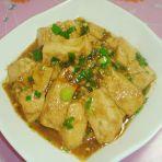 鲍汁烧豆腐