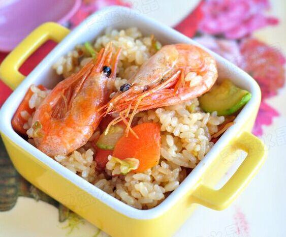 北极虾炒饭