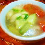 贝壳面茄条汤的做法