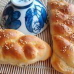 辫子芝麻面包