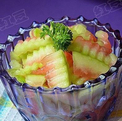 冰爽酸甜西瓜皮的做法