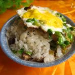 饼铛炒米饭