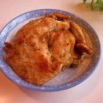 饼铛烤鸡肉