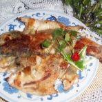 饼铛烤鲈鱼