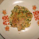 菠菜豆腐饼
