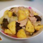 菠萝白菜炒肉