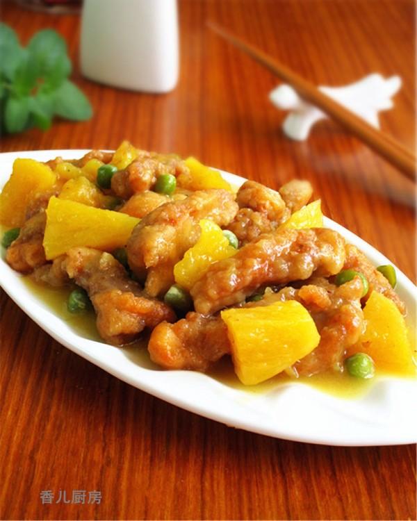 菠萝熘肉段