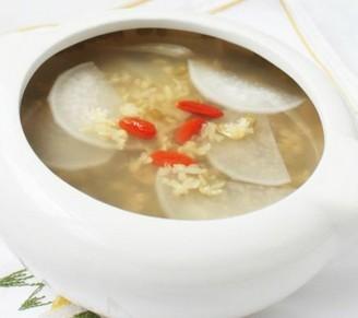 菜根绿豆汤的做法