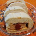 草莓酱栗子蛋糕卷