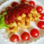 草莓香酥鸡柳