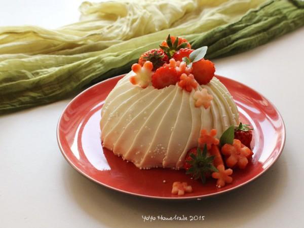 草莓芝士小蛋糕