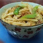 炒米稞丝的做法