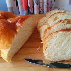 超软酸奶辫子面包