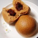 茶香粗粮豆沙包的做法