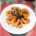 陈皮普洱茶香鲜虾