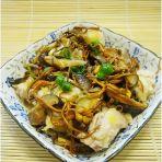 虫草花香菇蒸鸡肉