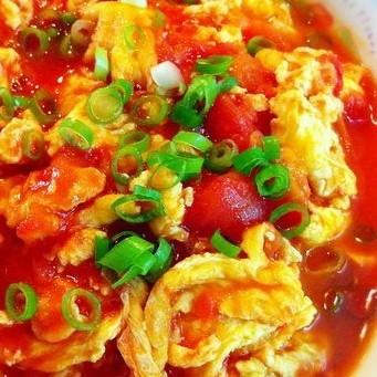 葱花番茄炒蛋