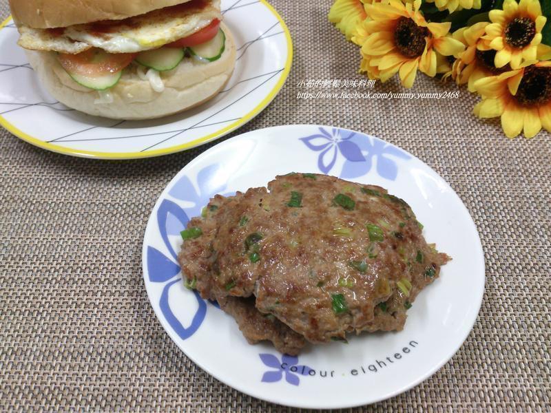 葱香肉饼&葱香肉蛋堡