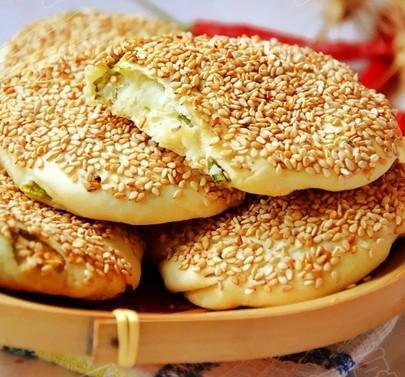 葱油酥烧饼的做法