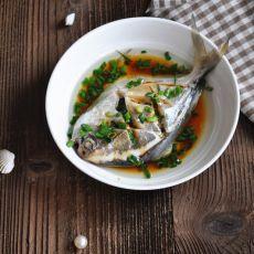 葱油鲳鱼的做法