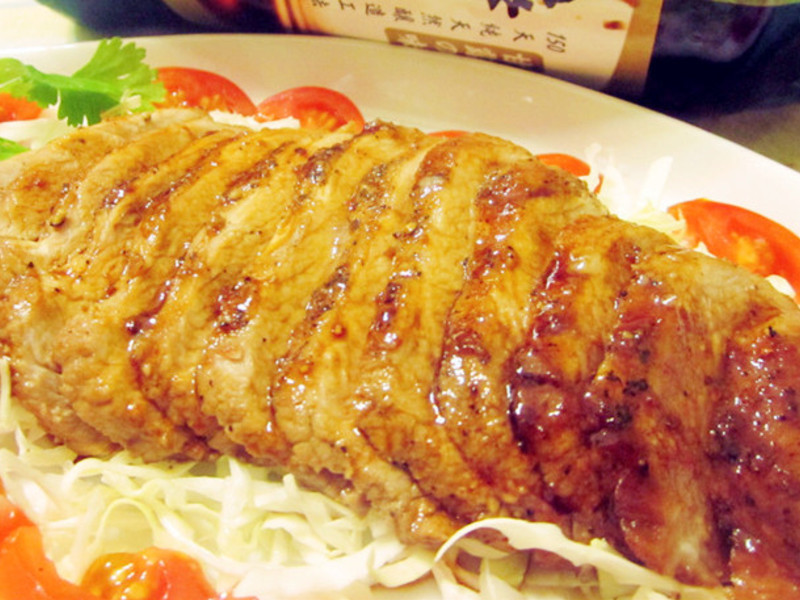 醋烧蜂蜜猪肉排