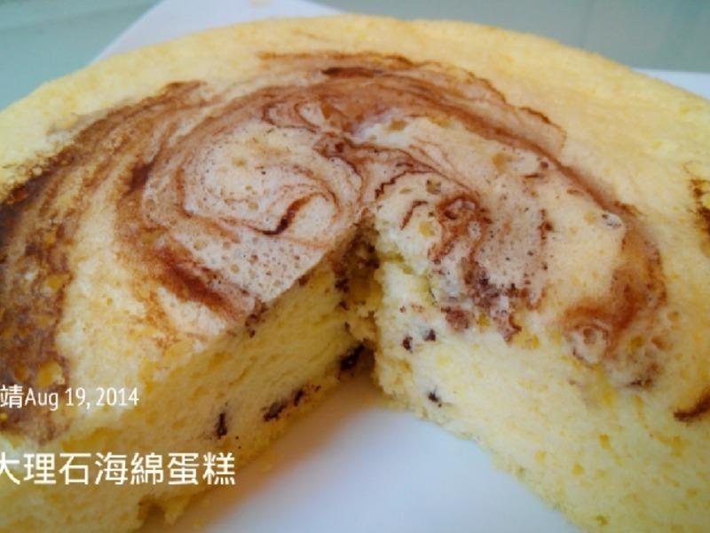 大理石海绵蛋糕的做法