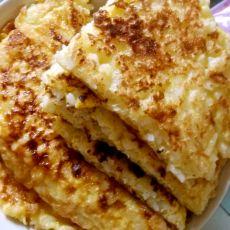 大米鸡蛋饼