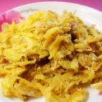 蛋煎红薯丝的做法