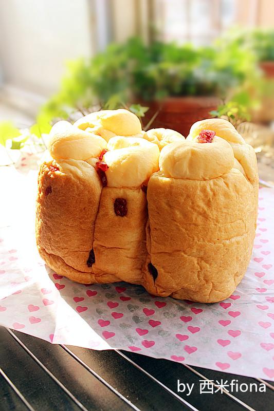 淡奶中种面包的做法
