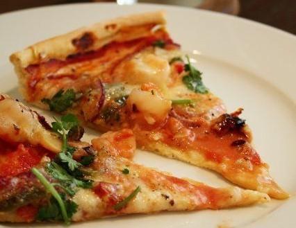 大虾奶酪pizza