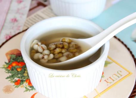 电锅版绿豆薏仁汤