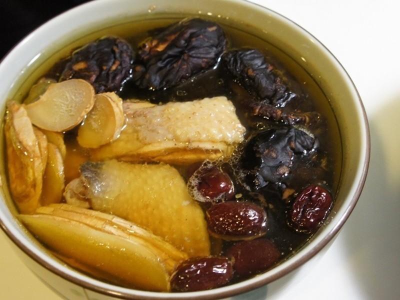 电锅版香菇鸡汤