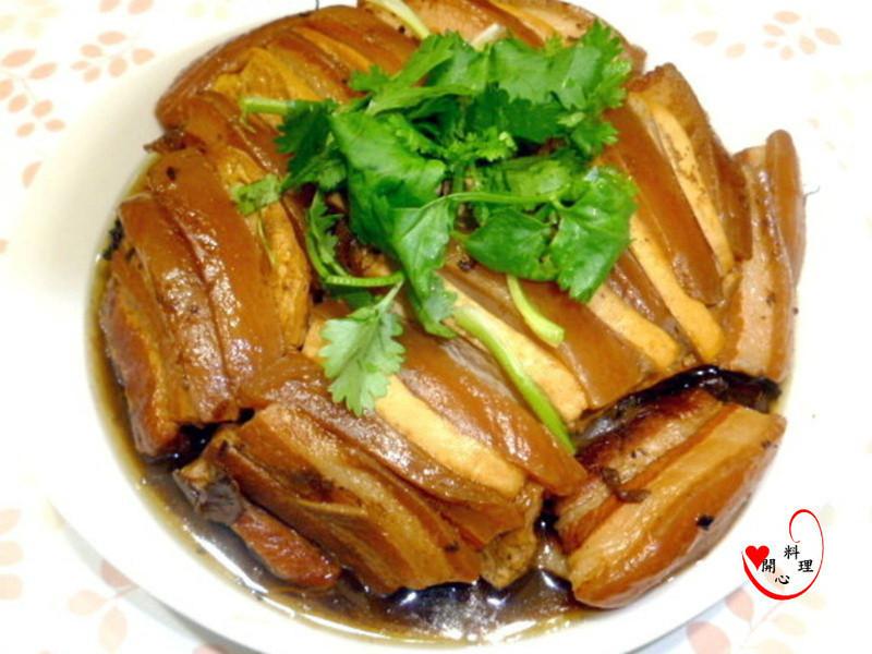 电锅豆腐扣肉