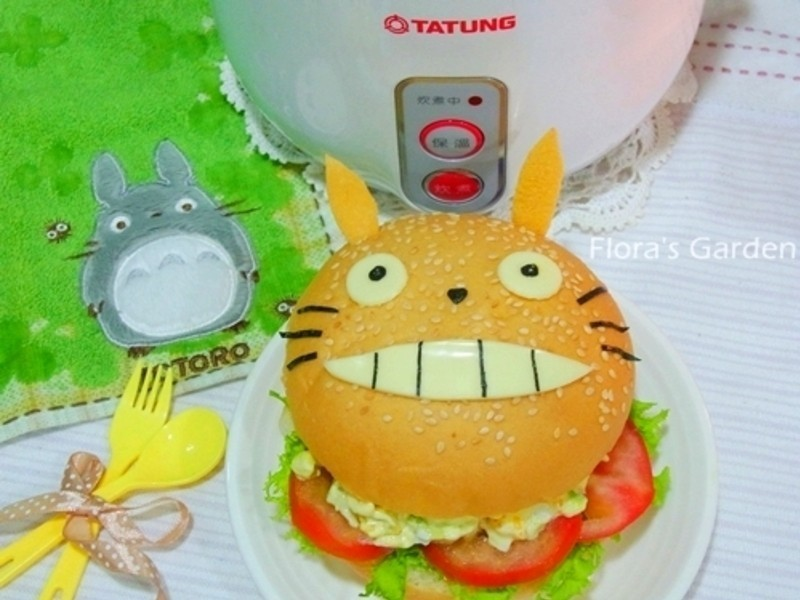 电锅水煮蛋‧龙猫汉堡