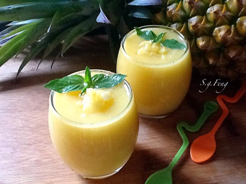 地瓜凤梨浓汁的做法