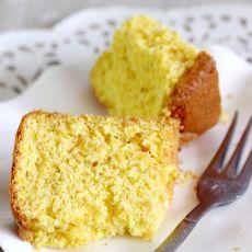 低糖无油橙肉蛋糕