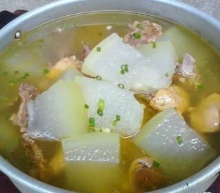 冬瓜土鸽汤的做法