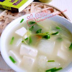 豆腐冬瓜虾米汤