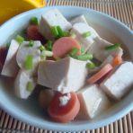 豆腐火腿汤