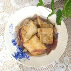 豆腐烧洋葱
