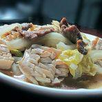 豆腐焖大白菜