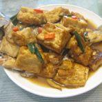 豆腐焖鲈鱼