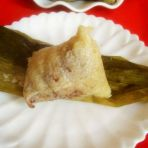 豆沙莲蓉粽的做法